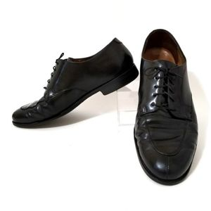 Cole Haan Lenox Hill black leather oxfords 12 wide